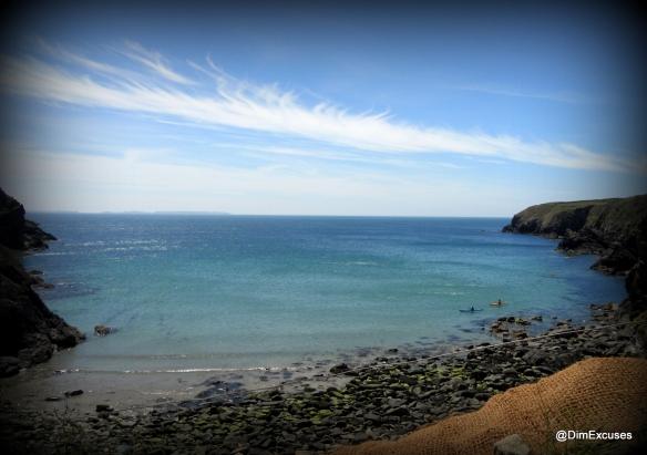 Blue Caerfai Bay