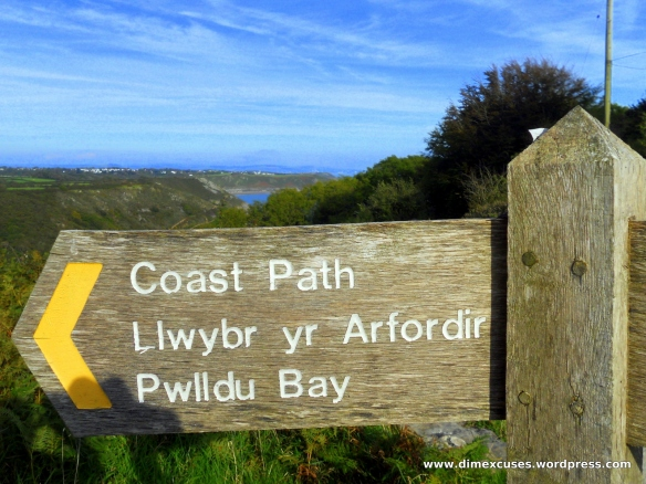 Wales Coast Path Pwll Du