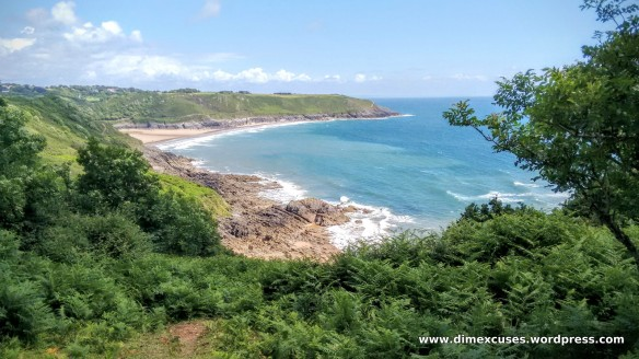 Brandy Cove to Caswell Bay